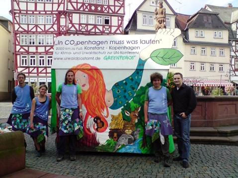 Greenpeace in Butzbach