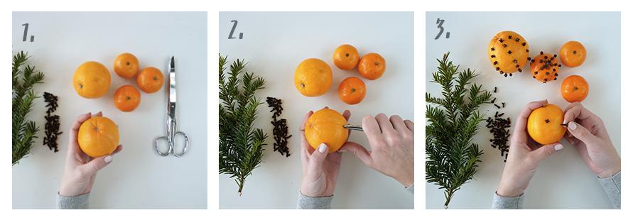 DIY Bastelanleitung für Duft-Orangen mit Nelken