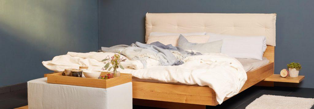 Green Living Bett Eco Kollektion bei hessnatur