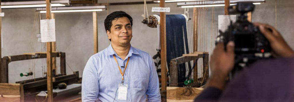 Bangladesch Jeans Interview Fabrikleiter