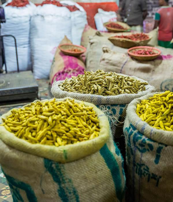 Bangladesch Markt Dhaka