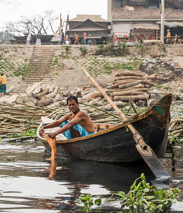 Bangladesch Fluß