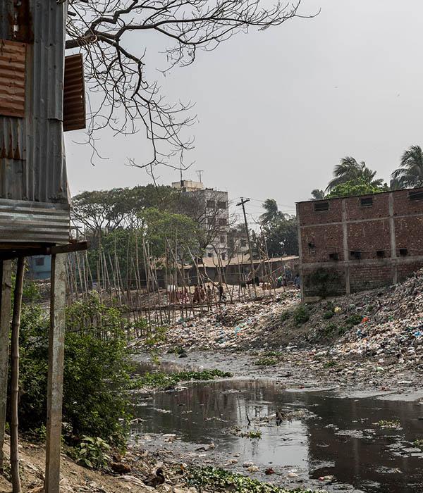 Bangladesch Wohnsiedlung