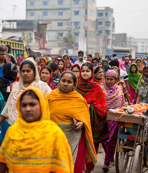 Bangladesch Näherinnen