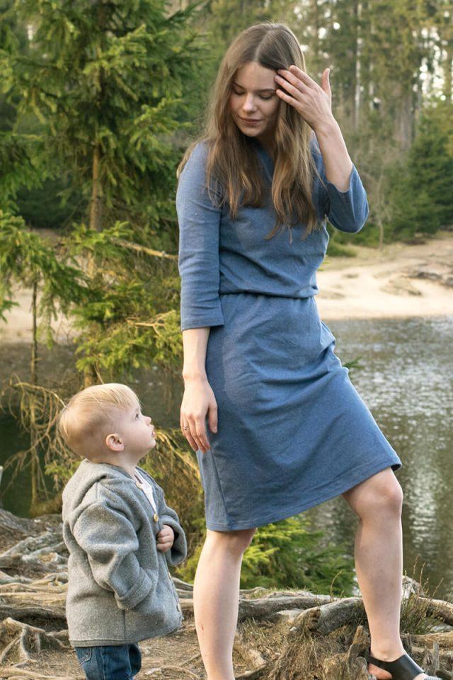 Laura & Aric von trendshock in hessnatur Kleid aus reiner Bio-Baumwolle