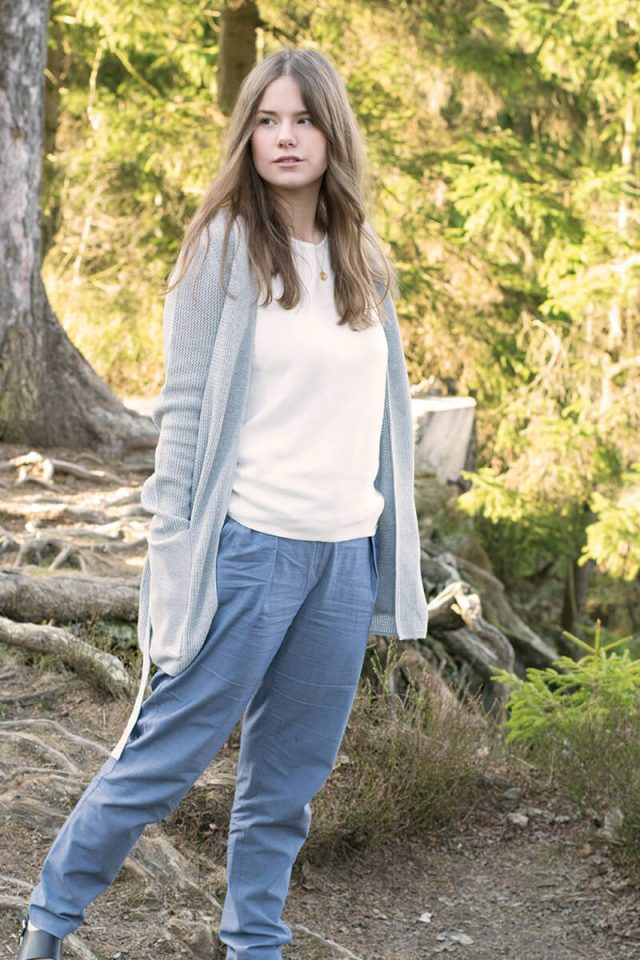 Laura Niemeyer von trendshock in hessnatur Bio-Denim