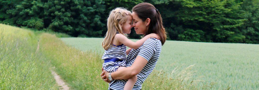 Kathrin von Gabelschereblog im Mama-Kind-Partnerlook