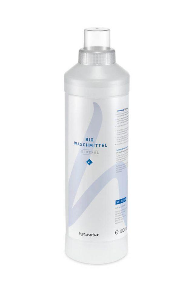 hessnatur-Textilpflege Bio-Waschmittel Leinen Hanf Baumwolle