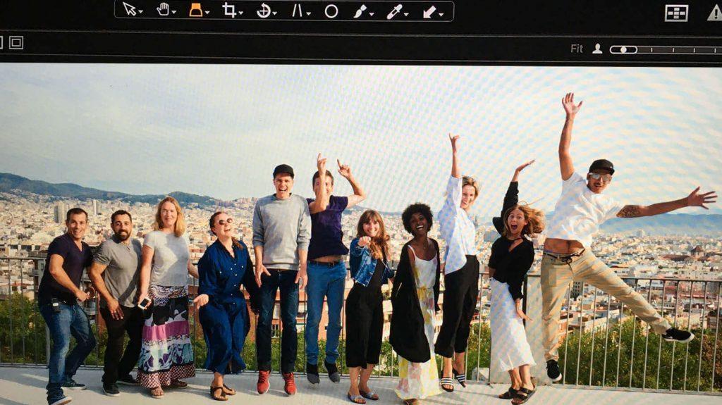 Sommer-Kollektion-2017-Fotoshooting-Barcelona-Team