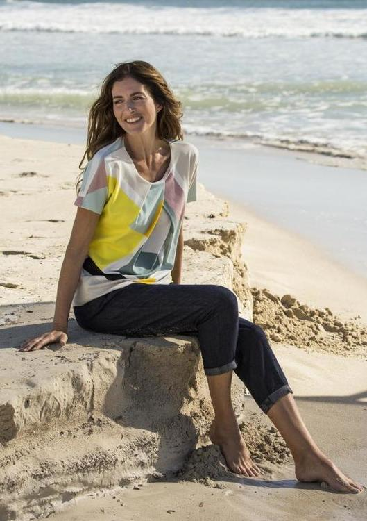 hessnatur Color Blocking Strandlook