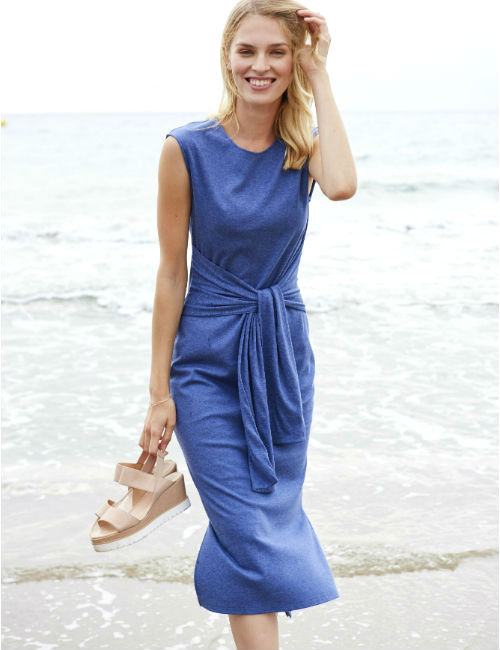 Bio Baumwoll Jersey Kleid von hessnatur