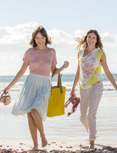 Freundschaftlich am Strand