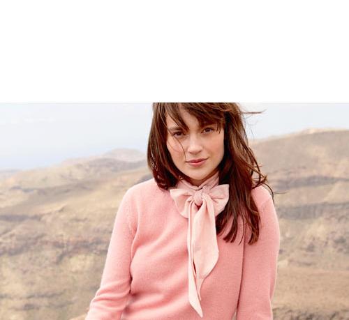 Pullover aus Royal Alpaka in Rosé von hessnatur