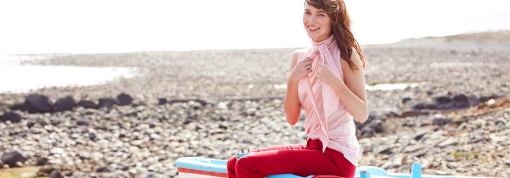 Trendfarben Rot und Rosé für den Sommer von hessnatur