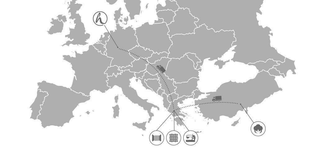 hessnatur Produktionsorte