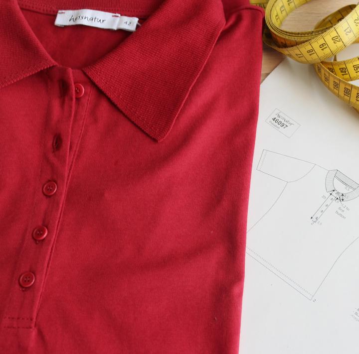 hessnatur Polo-Shirt Kontrolle