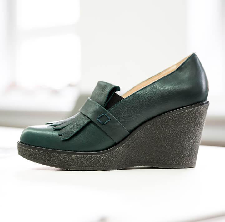 hessnatur Leder Schuh