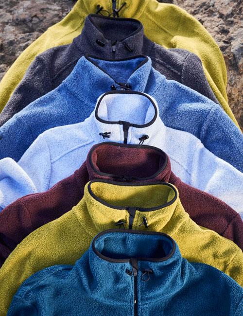 Bio-Baumwoll-Fleece Jacken für Outdoor-Spaß