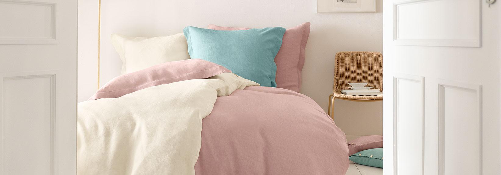 purelove bettw sche aus reinem hessen leinen hessnatur magazin. Black Bedroom Furniture Sets. Home Design Ideas