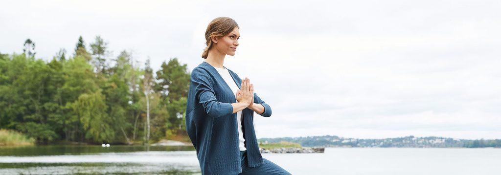 Yoga Kollektion hessnatur