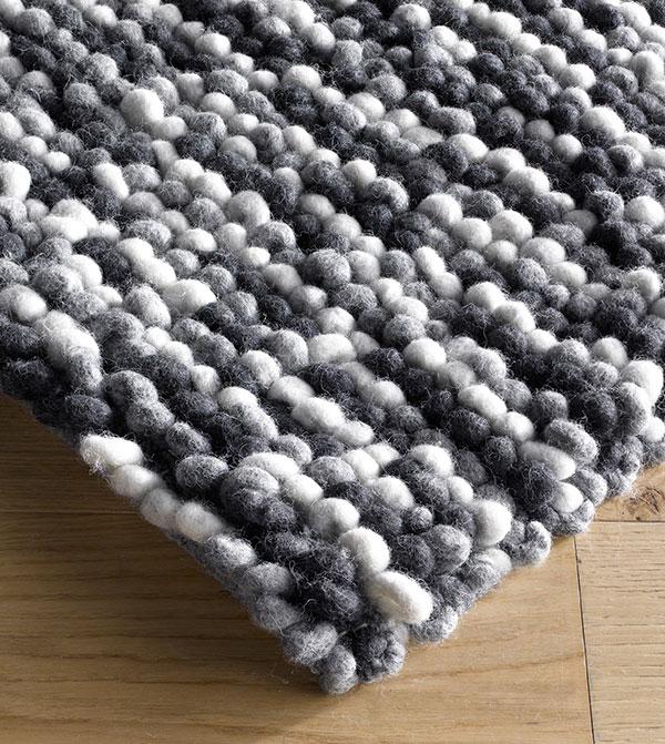 Teppich aus Schurwolle