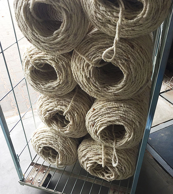 Teppiche aus Rhöhnwolle