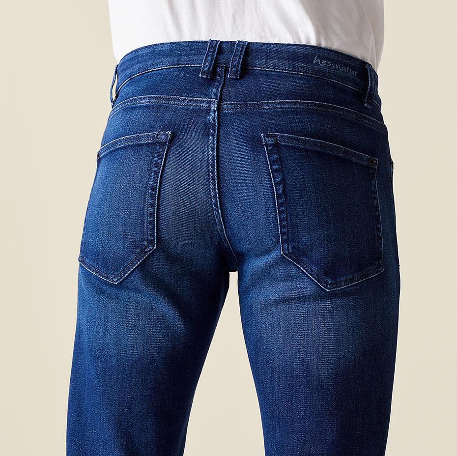 Slim-Fit-Jeans Ben Bund hinten