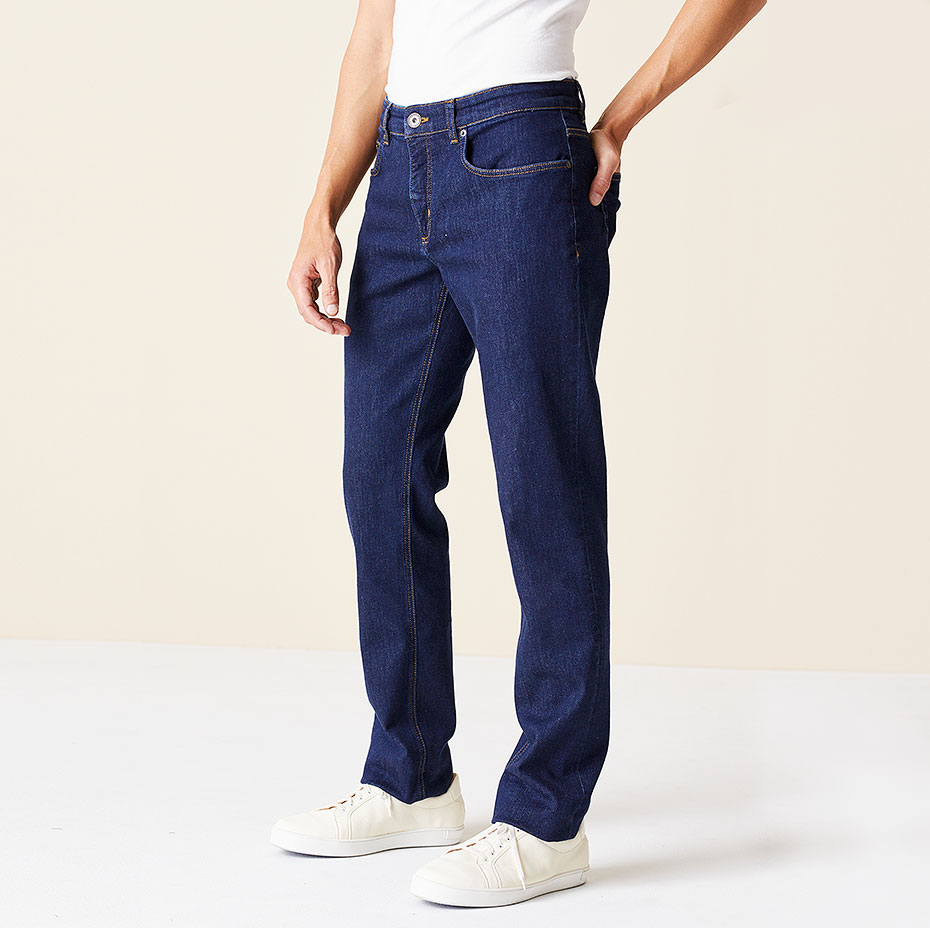 Straight-Fit-Jeans Ben Seitenansicht