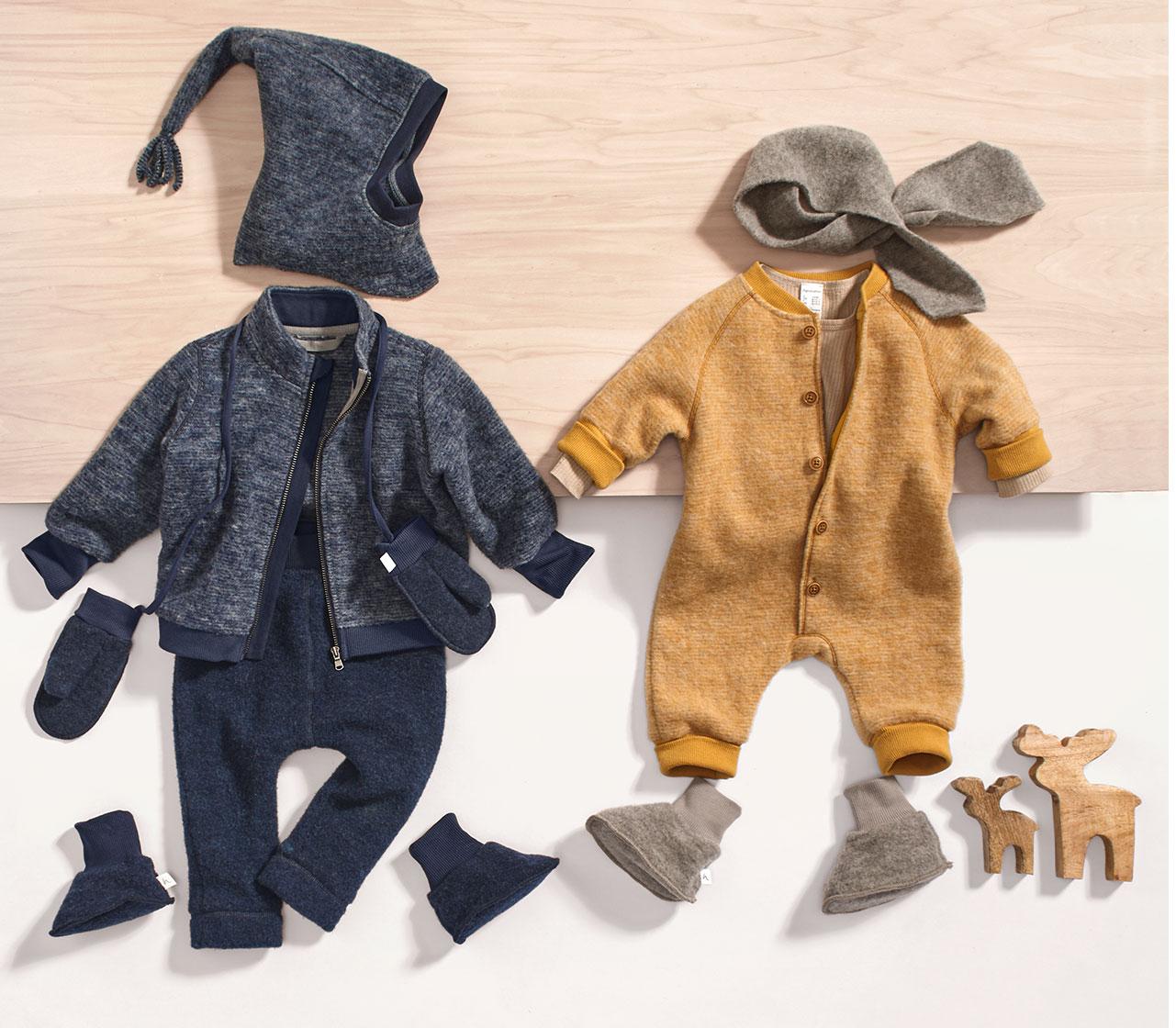Baby und Kinderkleidung aus Bio Baumwolle hessnatur