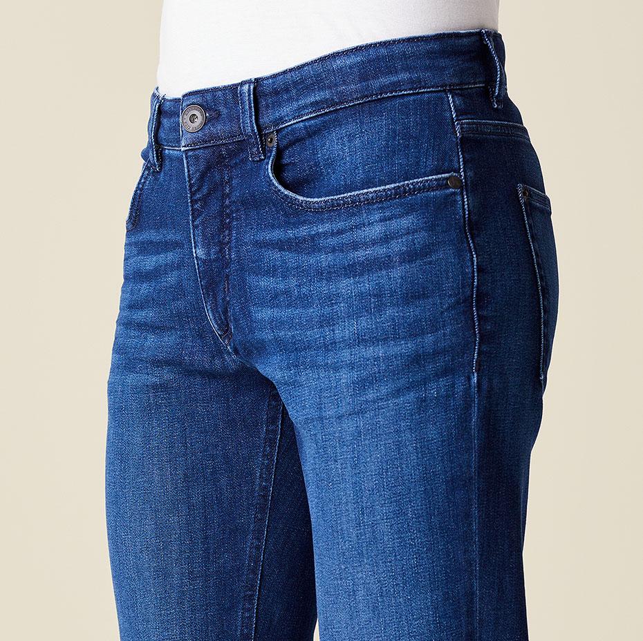 Slim-Fit-Jeans Ben Bund vorne