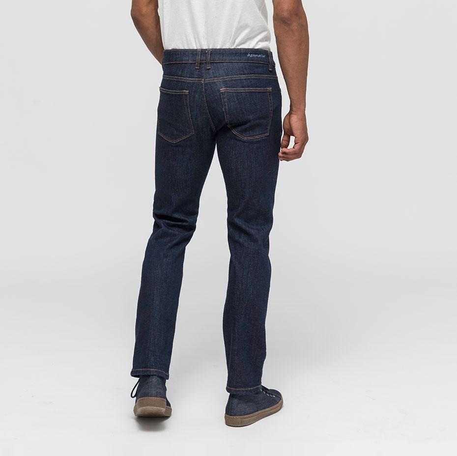 Straight-Fit-Jeans Ben Rückseite