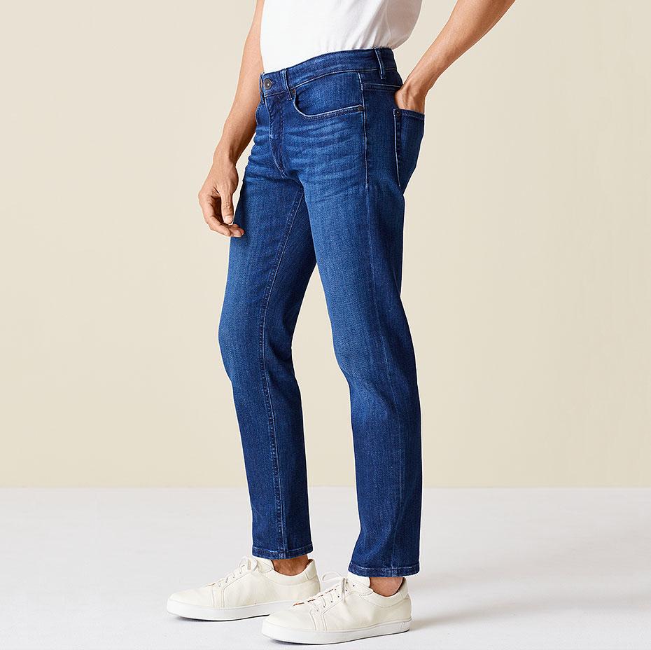 Slim-Fit-Jeans Ben Seitenansicht