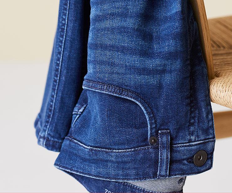 Waschungen der Straight Fit Jeans Ben