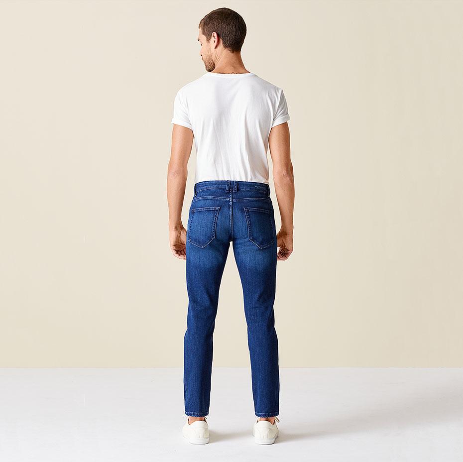 Slim-Fit-Jeans Ben Rückseite