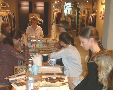 Katalogschulung im Laden München