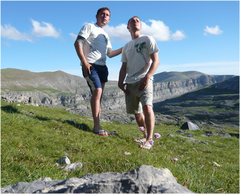 Pyrenäen - am Refugio de Goriz (2160m)