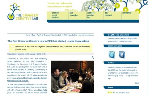 GCL Website
