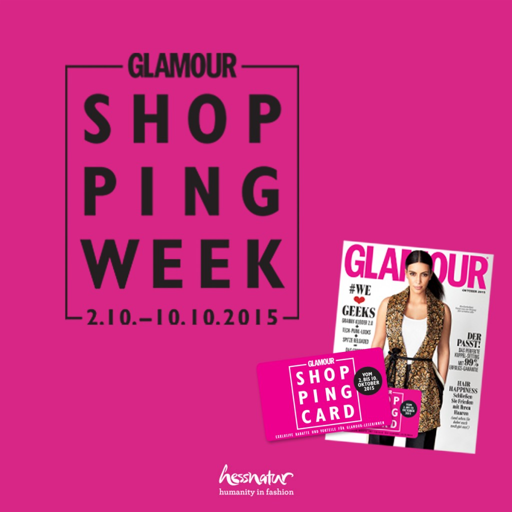 glamour shopping week online