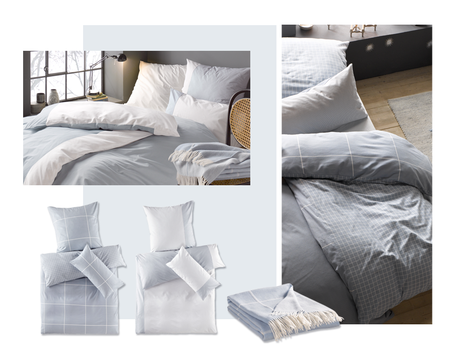 hessnatur Home-Artikel Biber- und Jersey-Bettwäsche in Bio Qualität