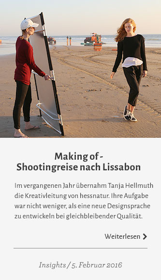 Making of - Shootingreise nach Lissabon. Weiterlesen.