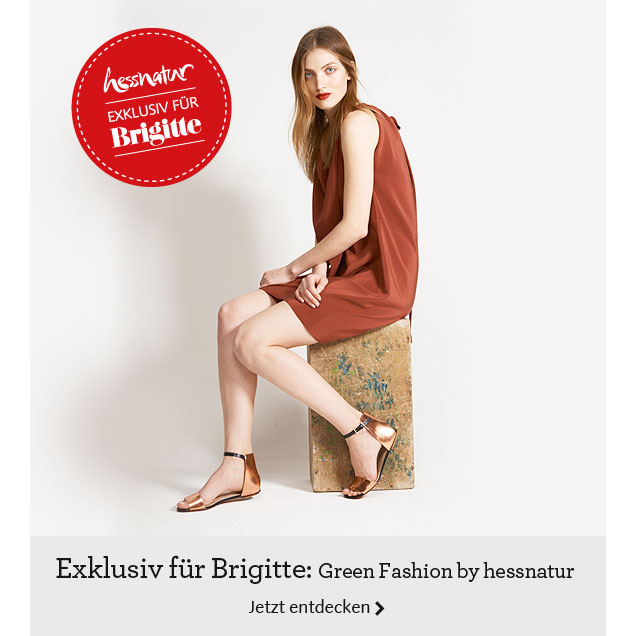 Exklusiv für Brigitte: Green Fashion by hessnatur